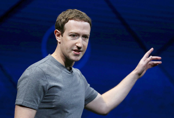 Facebook CEO Mark Zuckerberg. Photo: Getty Images