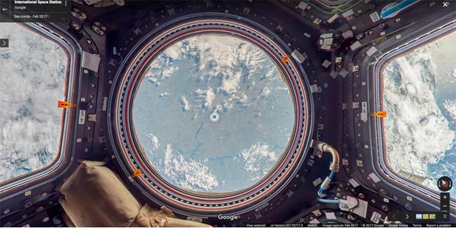 גוגל מזמינה אתכם לבקר מהבית בתחנת החלל הבינלאומית