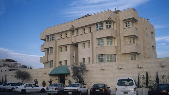 בניין שגרירות ישראל בעמאן (ארכיון)