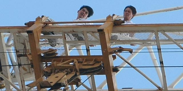 עובדים סינים בישראל, צילום: שאול גולן