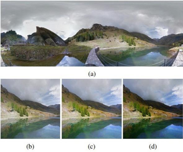 שיטת העבודה של התוכנה: זיהוי נקודה אסתטית בתמונה, ועיבוד שלה, צילום: מחקר שביצעה גוגל