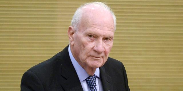 """נשיא ביהמ""""ש העליון לשעבר מאיר שמגר נפטר בגיל 94"""