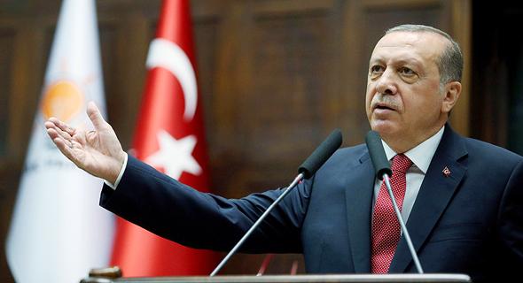 נשיא טורקיה ארדואן. נחפש בני ברית אחרים