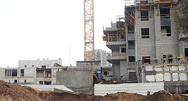 בנייה מנוך אשדוד בניינים דירות, צילום: ישראל יוסף