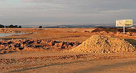 שטח לבנייה בקריית ביאליק, צילום: אלעד גרשגורן