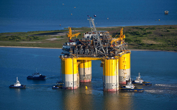 קידוח נפט בטקסס, צילום: בלומברג