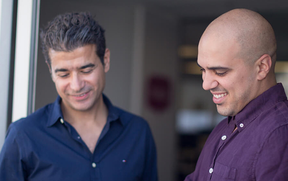 WalkMe co-founders Rephael Sweary (left) and Dan Adika. Photo: PR