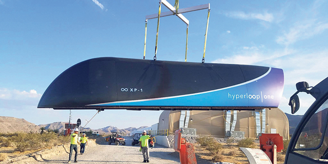 Hyperloop Line has Potential to Replace Tel Aviv–Aqaba Gulf Flights