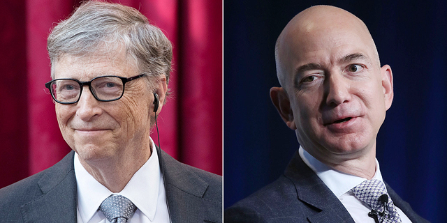 גייטס עלה לראש רשימת עשירי העולם, על חשבון בזוס