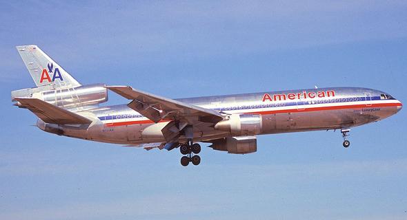 מטוס ה-DC10. עבר מספר גדול של התרסקויות, אך שמר על שמו