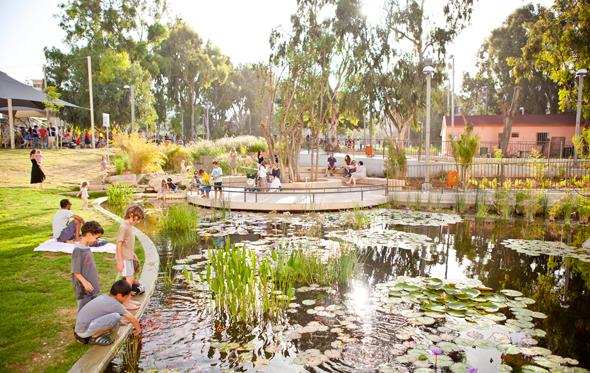 גן קריית ספר בתל אביב