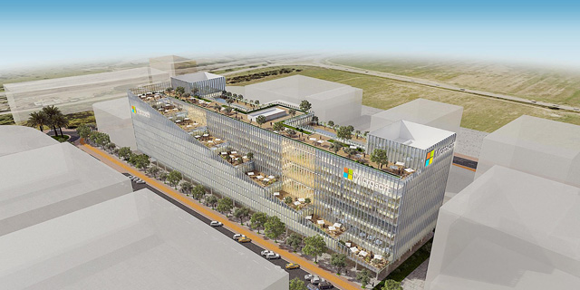 Microsoft's New Israeli Campus to Feature Hanging Gardens