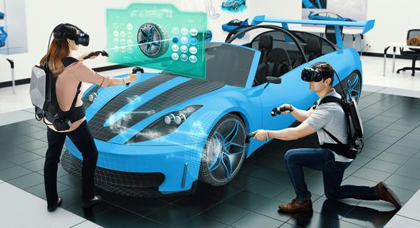 HP מציאות מוגברת Z VR מציאות מדומה, צילום: HP