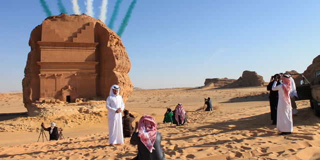 אתר המורשת העולמית מאדאין סאלח, צילום: בלומברג