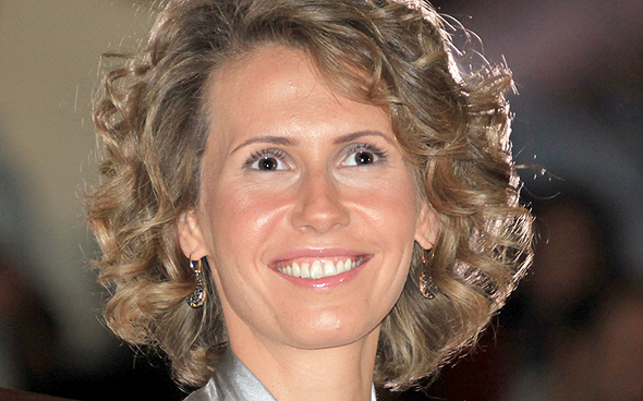 Asma Al-Assad. Photo: AFP