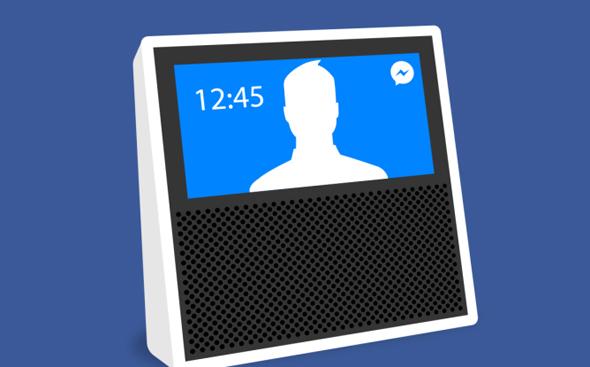 פייסבוק מכשיר צ'ט, צילום: TechCrunch