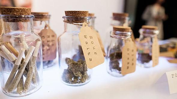 בר קנאביס בחתונה. רק תבחרו את הזן המועדף עליכם, צילום: herb.co