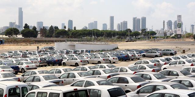 מגרש מכוניות, צילום: אוראל כהן