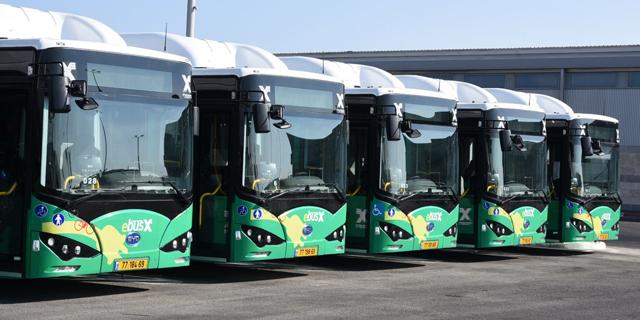 אוטובוסים חשמליים חיפה אגד, צילום: רפי זוהר