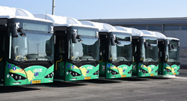 אוטובוסים של אגד, צילום: רפי זוהר