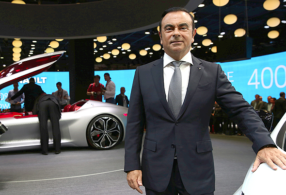 Renault-Nissan-Mitsubishi's CEO and Chairman Carlos Ghosn. Photo: Bloomberg
