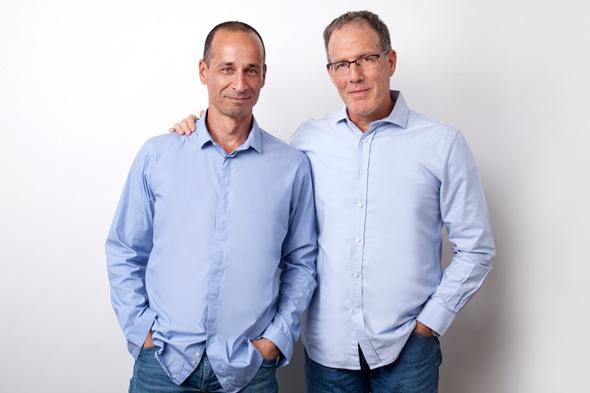 מימין: מנהלי אוריקס רן ולינגשטיין ודודו בן בסט. החליטו לסגור למרות שהמשקיעים היו מוכנים להמשיך