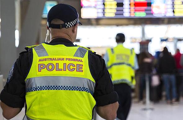 """כוחות המשטרה האוסטרלים. """"מיזם מתואם להברחת סמים"""", צילום: גטי אימג"""