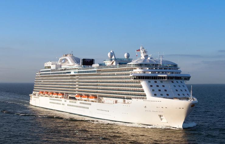 """ספינת התענוגות """"סי פרינסס"""", צילום: princess cruises"""