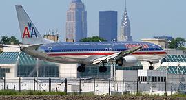 מטוס של אמריקן איירליינס בניו יורק, צילום: Phil Derner Jr.