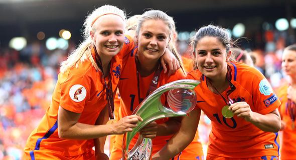 נבחרת הנשים של הולנד, צילום: גטי אימג
