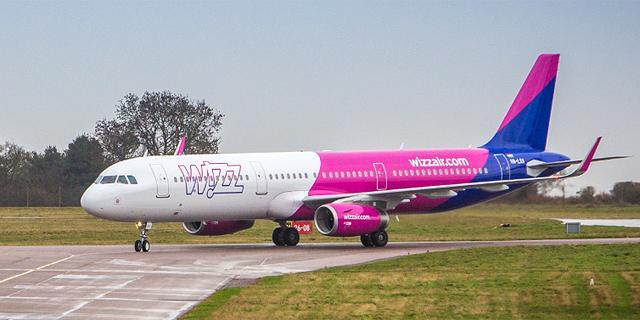 wizz air. במקום השלישי, צילום: Wizz Air