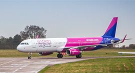 מטוס של וויז, צילום: Wizz Air