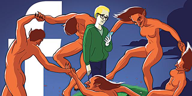 מלחמת פייסבוק בפייק ניוז היא קרב מזויף