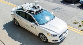 רכב אוטונומי של אובר, צילום: אובר