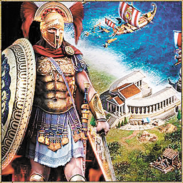Plarium's Sparta game. Photo: Amit Shaal