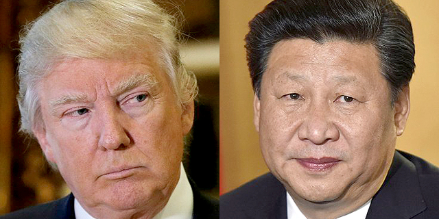 """סין איפשרה ליואן ליפול - וטראמפ תקף: """"זו מניפולציית מטבע, מישהו בפד שומע?"""""""
