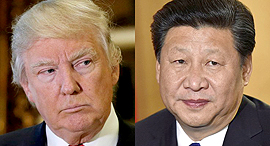 שי ג'ינפינג, דונלד טראמפ, צילום: רויטרס