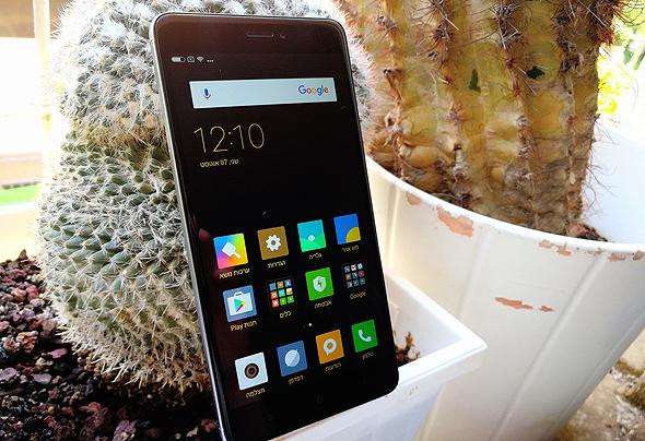 שיאומי redmi note 4x סמארטפון סיני 1, צילום: רפי קאהאן