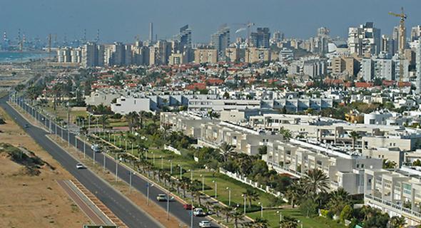 העיר אשדוד (ארכיון). היקף חסר תקדים של בנייה בזמן קצר