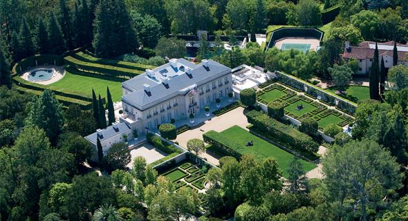 """הבית היקר ביותר ארה""""ב בבל אייר. 350 מיליון דולר"""