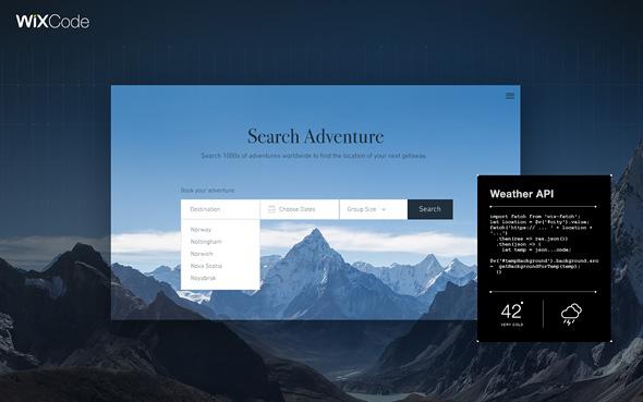 וויקס, מערכת לבניית אתרים