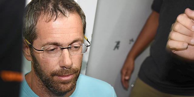 זילברשטיין בהארכת מעצרו השבוע, צילום: יאיר שגיא