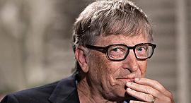 ביל גייטס מייסד מיקרוסופט תורם, צילום: בלומברג