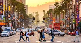 לוס אנג'לס קליפורניה קיץ חום , צילום: שאטרסטוק