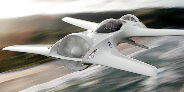 """דלוריאן 2.0: מכונת הזמן מ""""בחזרה לעתיד"""" הופכת למכונית מעופפת"""