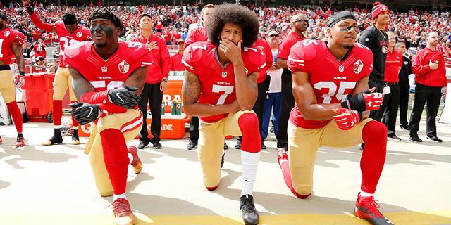 תשחק ותשתוק: כוכב הפוטבול שנענש על מחאה פוליטית
