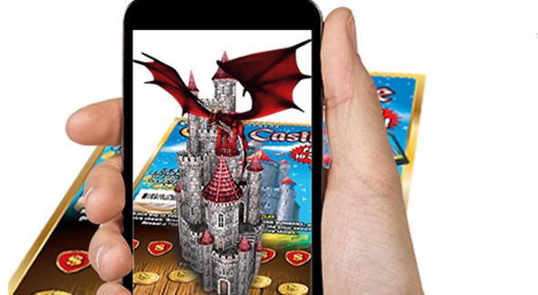 כרטיס לוטו עם טכנולוגיית מציאות רבודה, צילום: PayMax