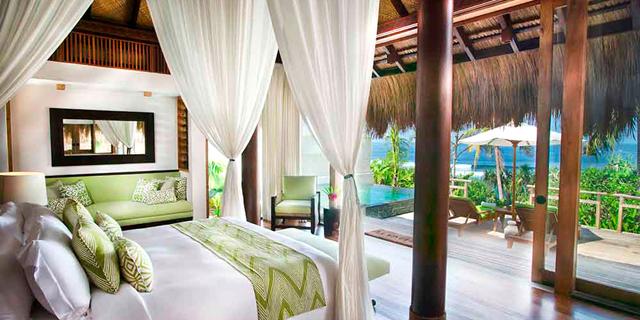 מאינדונזיה עד בוטצואנה: אלה המלונות הטובים בעולם ל-2017