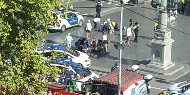 הפיגוע בברצלונה:13 נרצחו, דאעש לקח אחריות