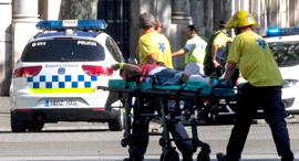 פיגוע הדריסה בברצלונה, צילום: אי פי איי